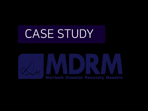 [Case Study] 재해복구 기동 자동화 솔루션, MDRM